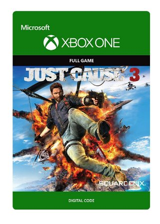 Just Cause 3 - Xbox One - Midia Digital Codigo 25 Digitos