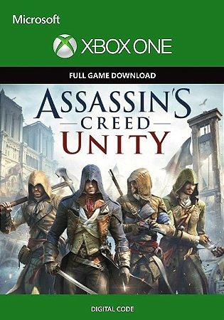 Assassin's Creed Unity Xbox One - Código Digital