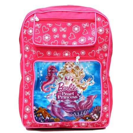 MOCHILA FEM. BARBIE PEARL PRINCESS - JO18812 - DIMMARINI - Venda no ... 4e4774cf399f3