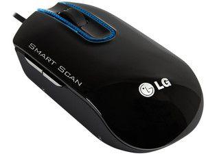 Digitalizador Mouse E Scanner De Mão Portátil Lg Lsm100 Usb