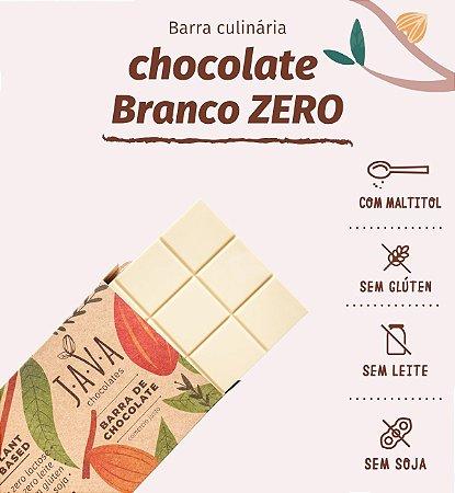 Barra de chocolate Branco - ZERO açúcar, glúten, leite e soja. VEGANO. Apenas 5 kg