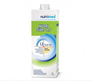 NUTRI ENTERAL SOYA FIBER SABOR BAUNILHA C/1000 ML SIST ABERTO - NUTRIMED