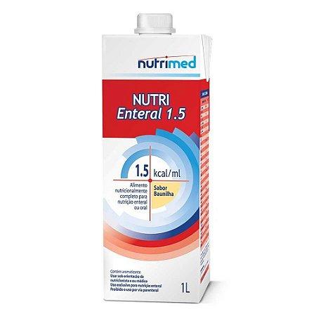 NUTRI ENTERAL 1.5 SABOR BAUNILHA C/1000 ML SIST ABERTO - NUTRIMED