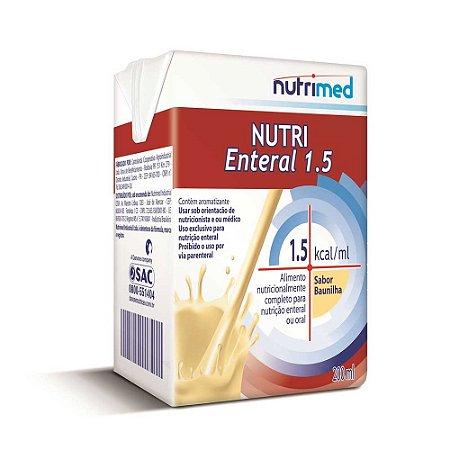 NUTRI ENTERAL 1.5 SABOR BAUNILHA C/200 ML - NUTRIMED