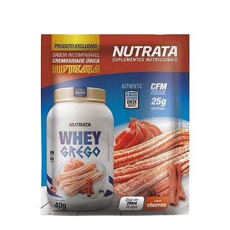 WHEY GREGO SABOR CHEESECAKE DE CHOCOLATE SACHE C/40G - NUTRATA