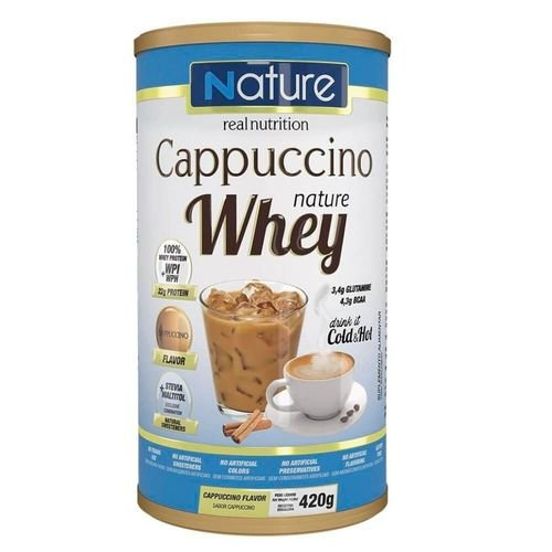 CAPPUCCINO NATURE WHEY C/ 420G - NATURE