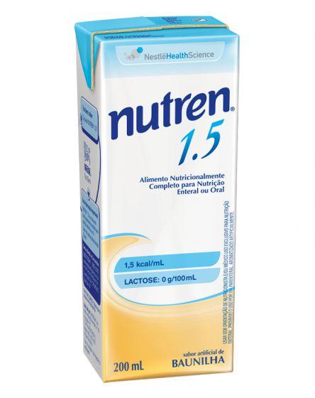 NUTREN 1.5 SABOR BAUNILHA C/200ML - NESTLE