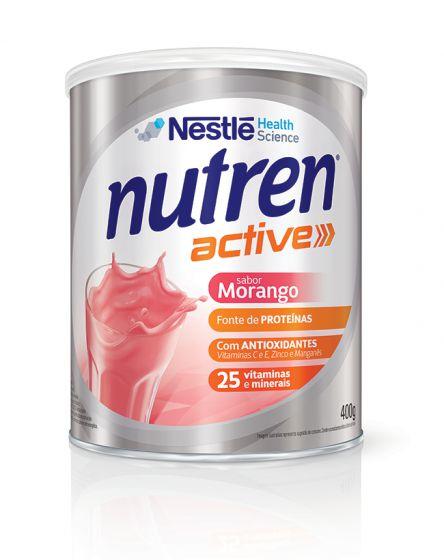 NUTREN ACTIVE SABOR MORANGO 400GR - NESTLE