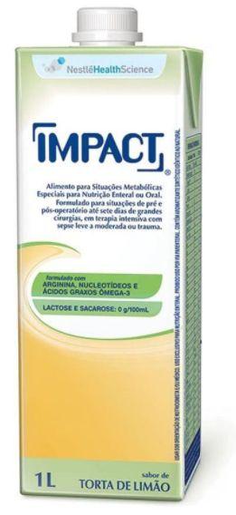 IMPACT SABOR TORTA DE LIMAO C/1000ML SIST ABERTO - NESTLE