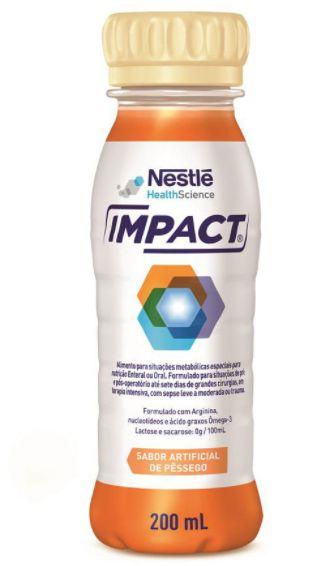 IMPACT SABOR PESSEGO C/200ML - NESTLE