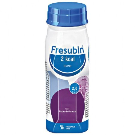 FRESUBIN 2KCAL SABOR FRUTAS DA FLORESTA C/200 ML- FRESENIUS - *VALIDADE PRÓXIMA*