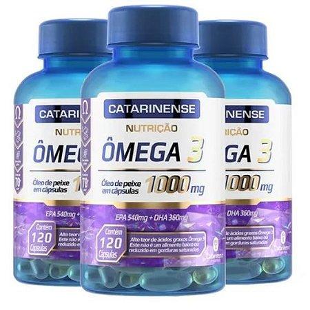 KIT C/3 OMEGA 3 1000 120CPS- CATARINENSE