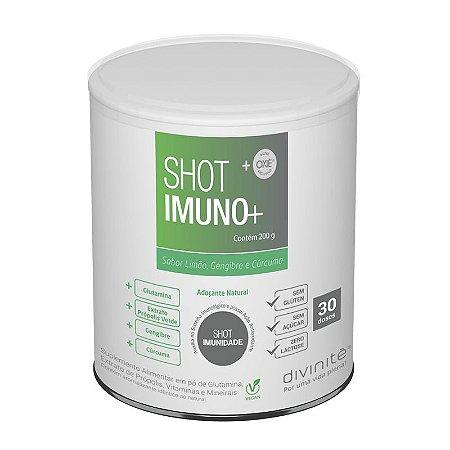 SHOT IMUNO + SABOR LIMAO GENGIBRE E CURCUMA 200G -DIVINITE