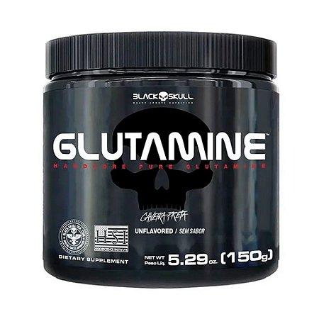 GLUTAMINE 150G CAVEIRA PRETA - BLACK SKULL