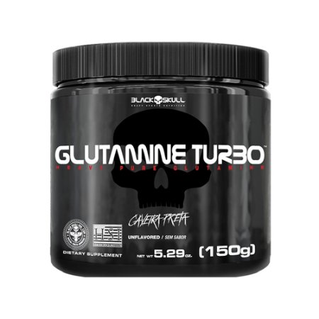 GLUTAMINE TURBO 150G - BLACK SKULL