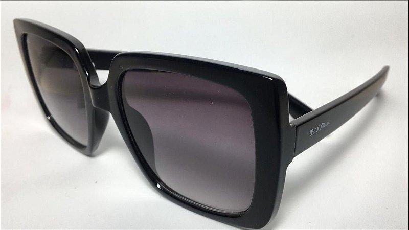 Óculos de Sol Beloo 0418 Preto brilhoso