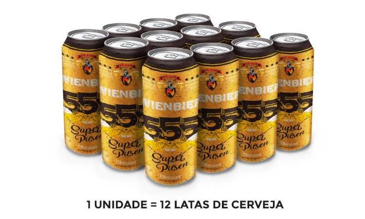 TESTE Cerveja Wienbier 555 Super Pilsen 710ml