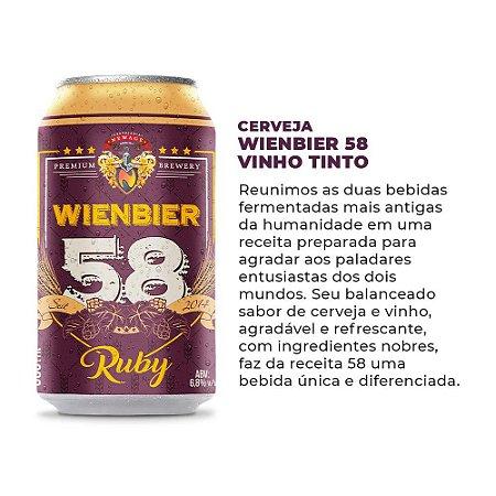 Cerveja Wienbier 58 Vinho 350ml