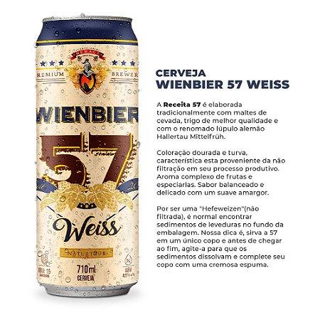 Cerveja Wienbier 57 Weiss 710ml