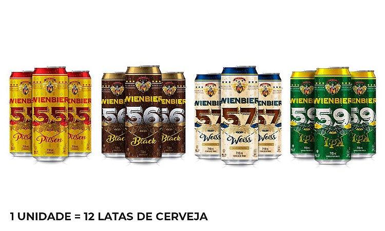 Kit Beer Lovers - 12 Latas de 710ml