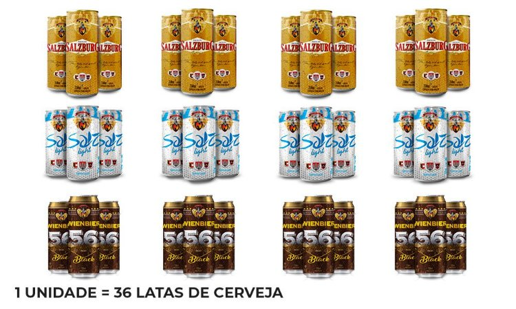 Kit Festa - 36 Latas