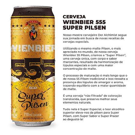 Cerveja Wienbier 555 Super Pilsen 710ml