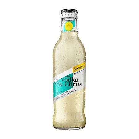 Schweppes Drinks Vodka Citrus - 250ml