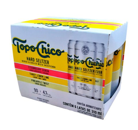 Topo Chico Six Pack - 3 Sabores -  310ml