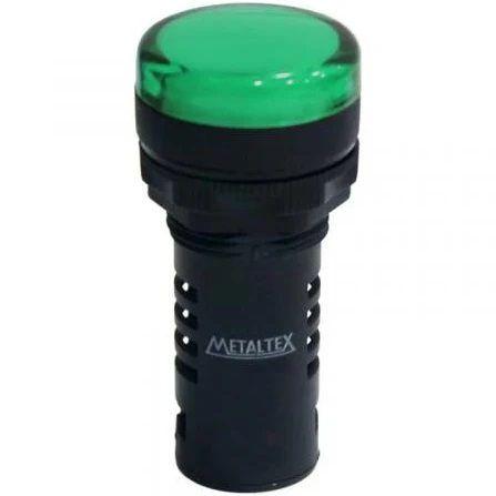 Sinaleiro 22mm Verde 24vcc