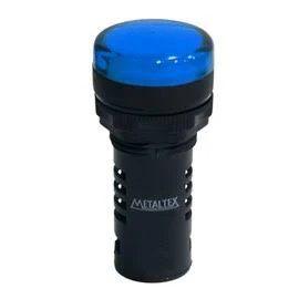 Sinaleiro 22mm Azul 24vcc
