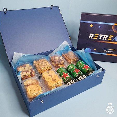Kit Corporativo Royalle PERSONALIZADO 12 Snacks (pedido mínimo de 10 unidades)