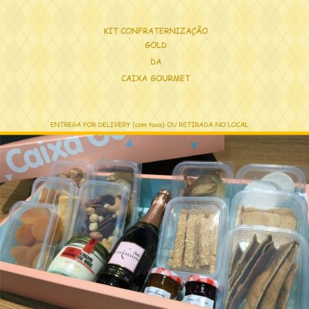 Kit Confraternização GOLD