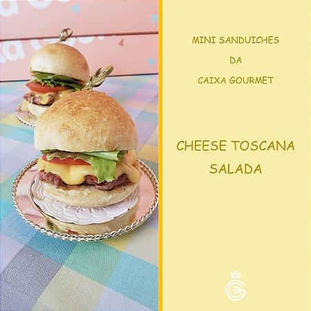 Mini Sanduíche - Cheese Toscana Salada