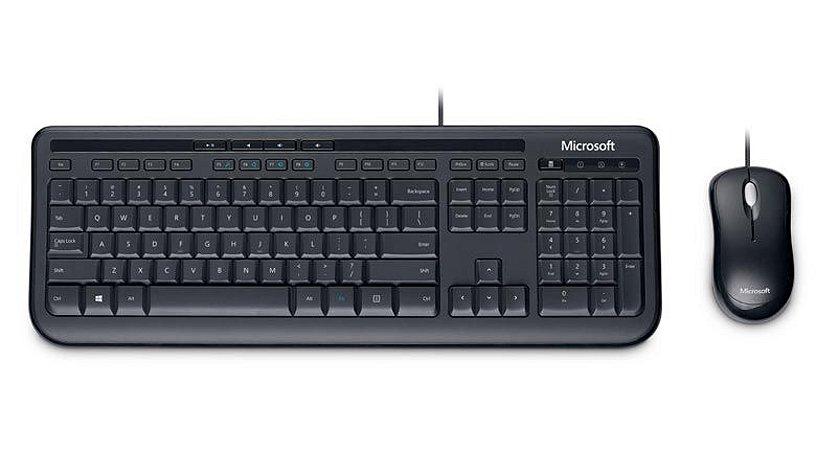 COMBO Teclado + Mouse Wired Desktop 600 - Microsoft