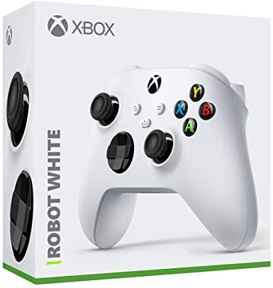 CONTROLE SEM FIO XBOX ROBOT WHITE