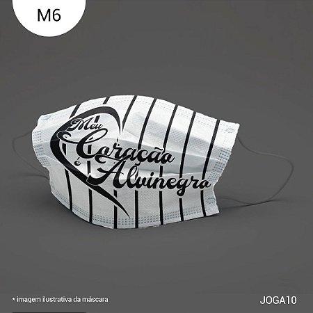 Máscara de Tecido| 2 camadas de proteção | Ajuste no nariz | M6