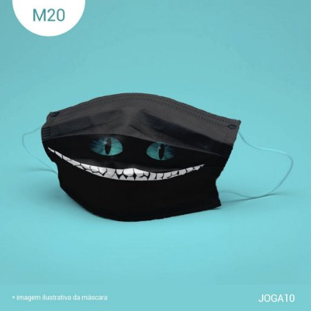 Máscara de Tecido| 2 camadas de proteção | Ajuste no nariz | M20