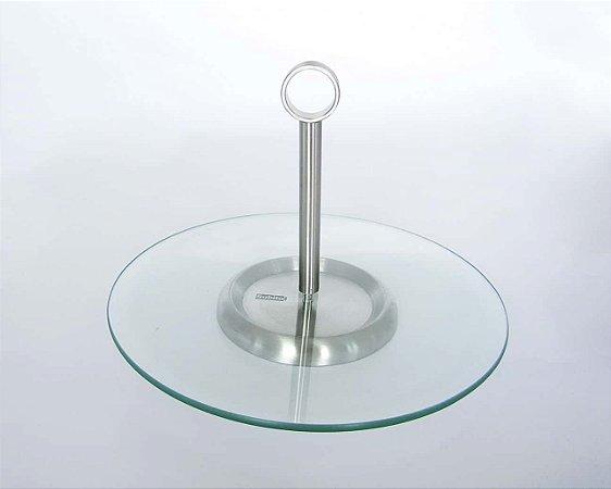 Petisqueira de vidro Urban com alça