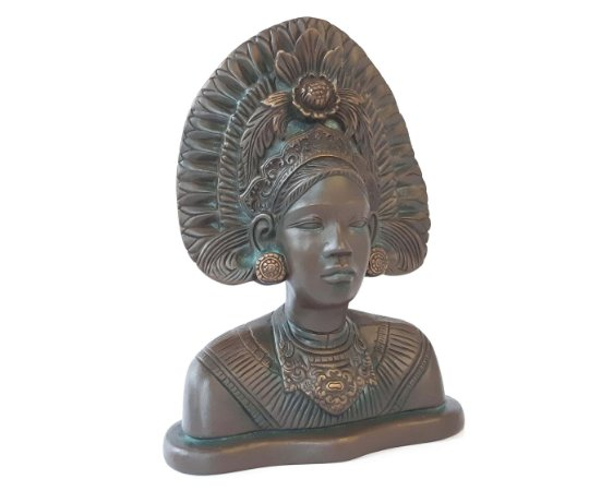 Escultura Deusa Asteca Chantio