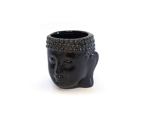 Cachepo Buda Decorativo em Cerâmica