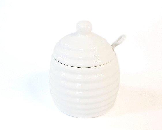 Meleira Liz de Porcelana Branca