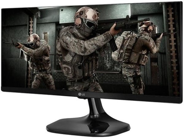 "Monitor Gamer LG 25UM58G-P.AWZ 25"" LED IPS - Full HD HDMI 75Hz 1ms"