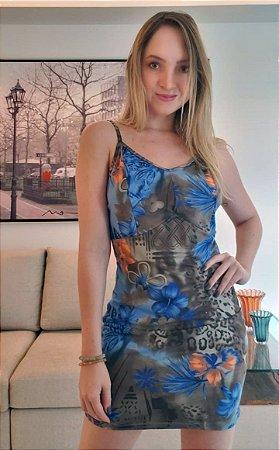 Vestido Alcinha Suede