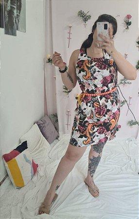 Vestido suplex sem manga