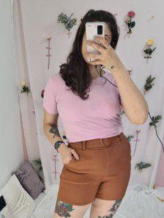Tshirt basica rosa