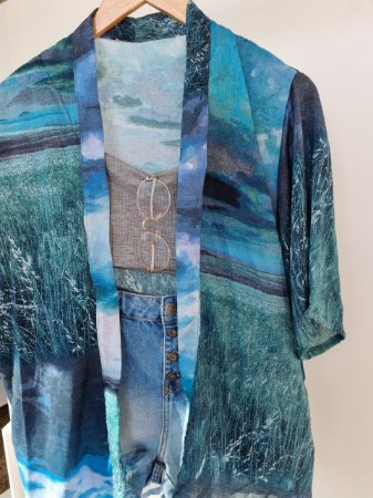 Kimono em viscose