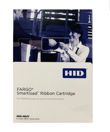 Ribbon Color Fargo 45102 Resina Black Dtc1000/Dtc1250 1000 Impressões