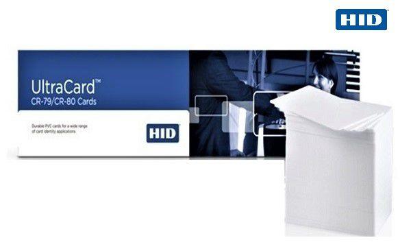 Cartão Pvc Ultra Card HID Caixa com 500 Cartões 54x86mm 0,76 PN 81754