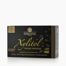 TESTE XYLITOL BOX 250g - Box c/ 50 sachês de 5g