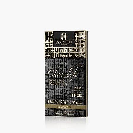 TESTE CHOCOLIFT BE UNIQUE 40g ESSENTIAL - Chocolate com Whey Protein